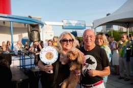 Brenda & Jack Pickleman with dog Rat