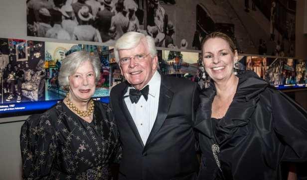 Allison de Frise, Jim and Abra Wilkin