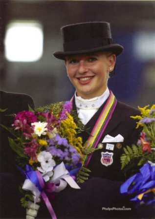 Daughter Kassie, the most winning young rider in US dressage history