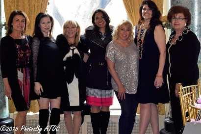 Irene Michaels, Kristine Farra, Janice Goldman Picker, Dr. Isaure, Yates, Aly Bockler,JoAnn Fakhouri, Odette Fakhouri