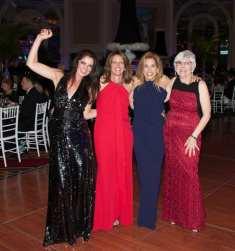 Blythe Mendelson, Karen Segal, Susan Draddy, June Barnard