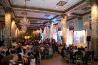 Guests are shown enjoying The Chicago Lighthouse's 2015 Annual Dinner, which raised nearly $300,000 to assist Lighthouse programs - Courtesy of John Reilly Photography