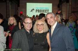 Steve and Robin Dale of Chicago, Paul Lisnek of Chicago