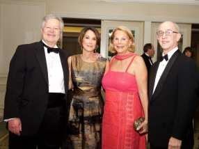 Dr. Mimis Cohen, Sharon Baker, Andrea Biel-Cohen, and Gary Marr