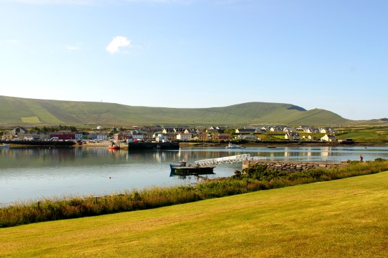 A view of Portmagee taken from Valentia Island