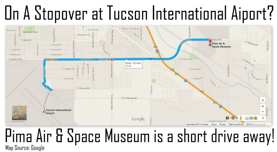 Pima Air and Space Museum Location