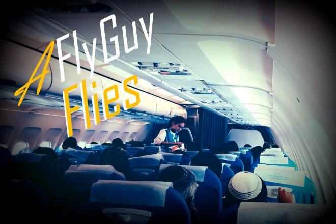 Fly Guy Flies Bangkok Airways