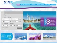 Safi Airways' website