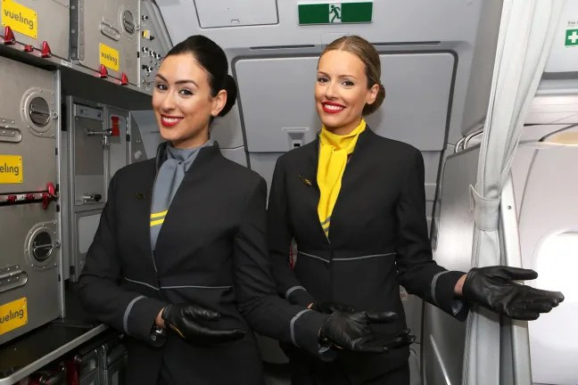 vueling uniforms