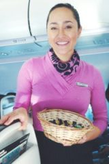 Air New Zealand flight attendant