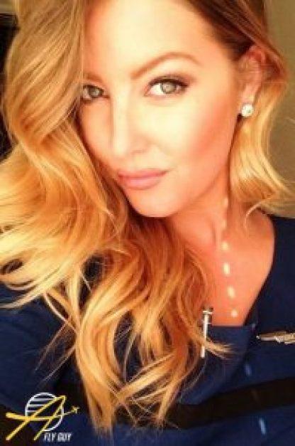 United Airlines flight attendant