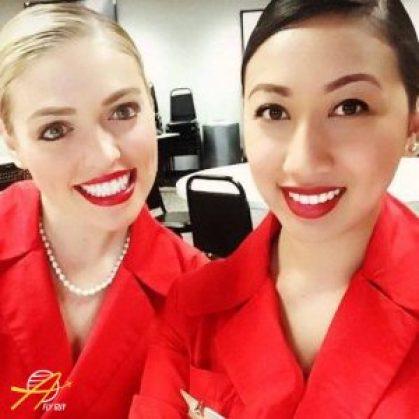 Delta Airlines cabin crew
