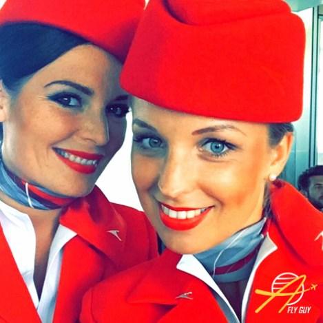 Austrian Airlines cabin crew