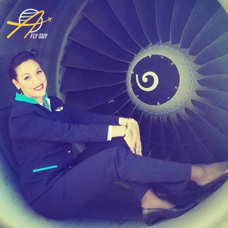 Tassili Airlines cabin crew