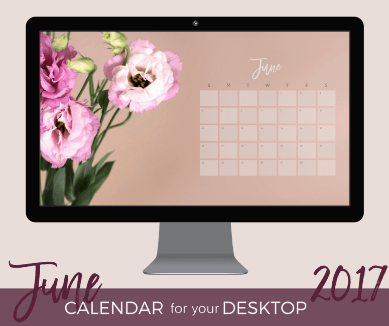 June 2017 Desktop Wallpaper download
