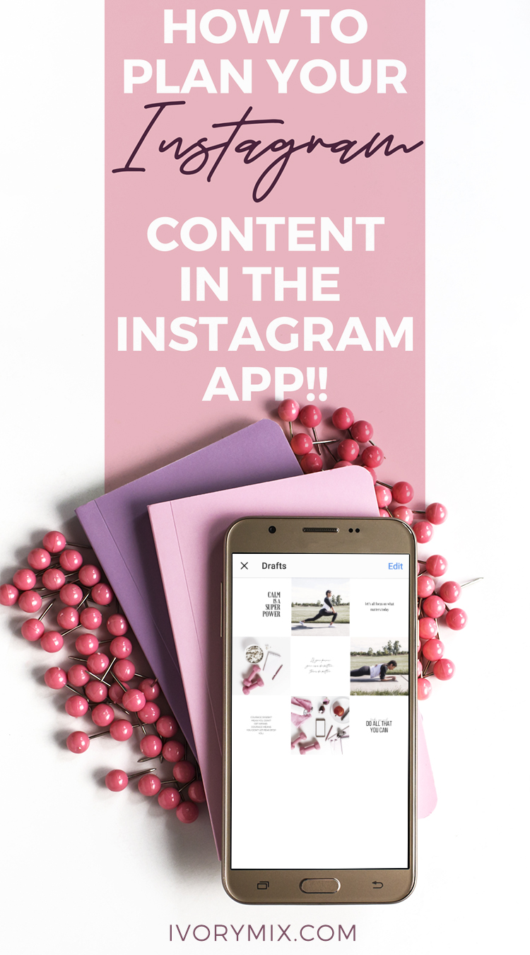 Plan & Preview Your Content in the Instagram app || No third-party apps. You can preview your next posts, save captions, and hashtags in the native Instagram app? It's true. This article shows you how - with video too!