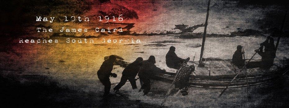 The James Caird Arrives At South Georgi
