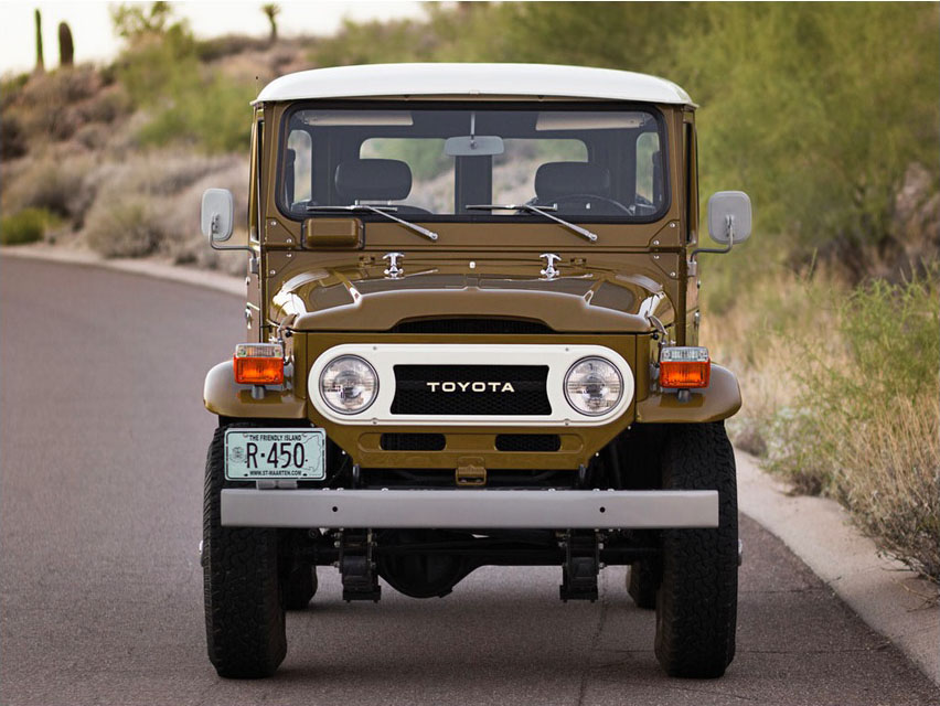 KIDNEY, ANYONE? FJ40 Land Cruiser sells for $101,750