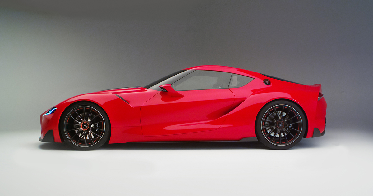 Delicieux NEWS: Supra, 2000GT Inspired Toyota FT 1 Concept Unveiled | Japanese  Nostalgic Car