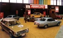 1974 Chicago Auto Show Mitsubishi Dodge Colt