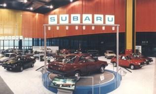 1986 Chicago Auto Show Subaru