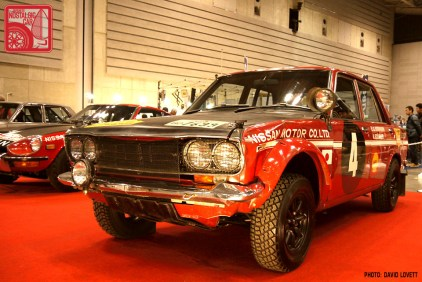 209-DL0587_Nissan Bluebird 510 Safari Rally