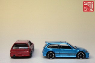 Hot Wheels Honda Civic EF teal