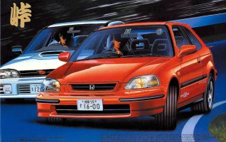 Fujimi Touge Honda Civic EK