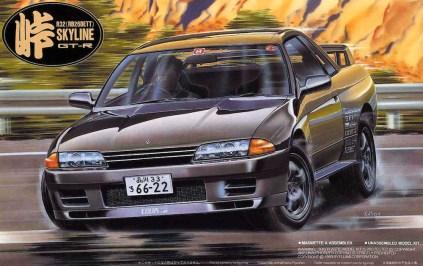 Fujimi Touge Nissan Skyline R32 GT-R