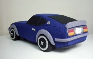Rocket Craft plush Datsun 240Z