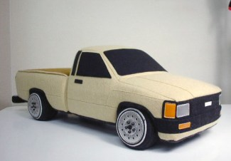 Rocket Craft plush Toyota Hilux 60