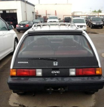 1985 Honda Civic 4