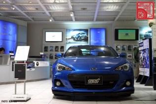 Subaru Showroom 2013 BRZ STI tS