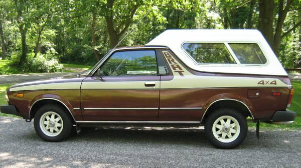 KIDNEY, ANYONE? Flawless 1980 Subaru BRAT | Japanese ...