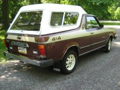1980 Subaru BRAT brown06