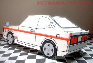 Mitsubishi GTO papercraft