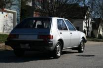 1983 Dodge Colt Twin-Stick Mitsubishi Mirage 07