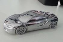 Acura NSX 2016 Detroit Auto Show sculpture 02
