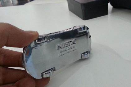 Acura NSX 2016 Detroit Auto Show sculpture 03