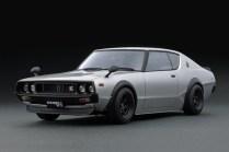 Ignition Models Nissan Skyline kenmeri silver front