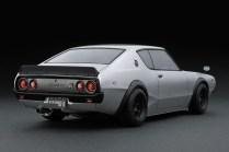 Ignition Models Nissan Skyline kenmeri silver rear