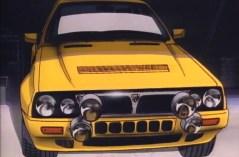 You're Under Arrest - Lancia Delta HF