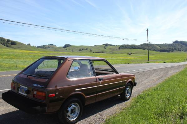 kidney anyone 53k mile 1981 toyota starlet japanese nostalgic car. Black Bedroom Furniture Sets. Home Design Ideas