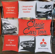 Mitsubishi Netherlands Classic Car Tour 07