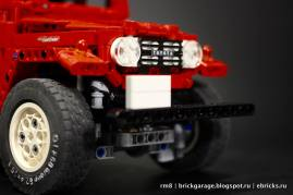 Lego Toyota Land Cruiser FJ40 09