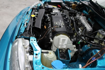 1991 Honda Civic Si Tahitian Green 51