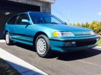 1991 Honda Civic Si Tahitian Green 81