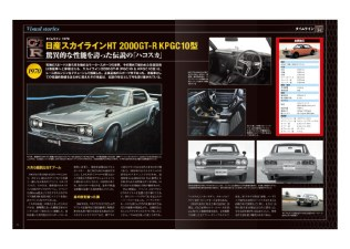 Nissan Skyline KPGC10 GT-R Hakosuka subscription model book 03