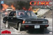 Aoshima Nissan Cedric 430 Seibu Keisatsu model kit