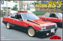 Aoshima Nissan Skyline R30 Seibu Keisatsu Machine RS3 model kit